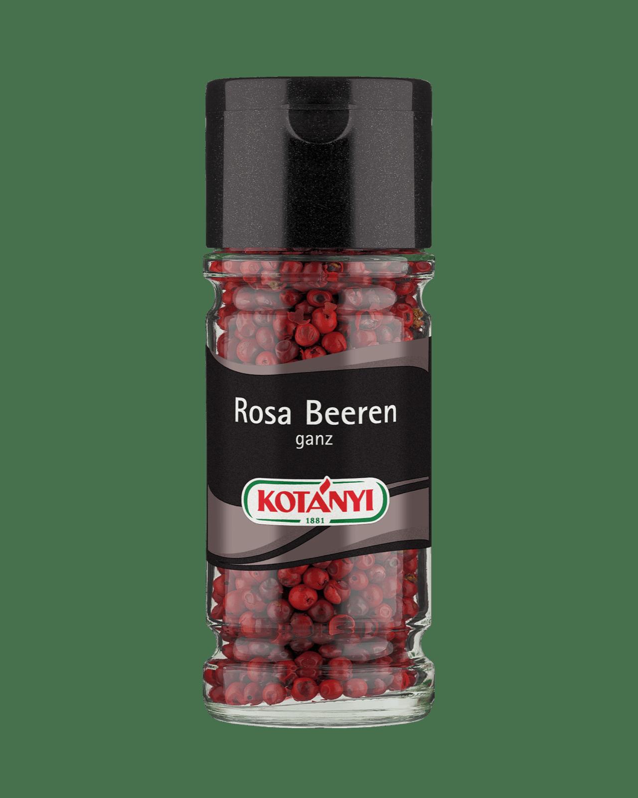 Kotányi Rosa Beeren ganz im Glas