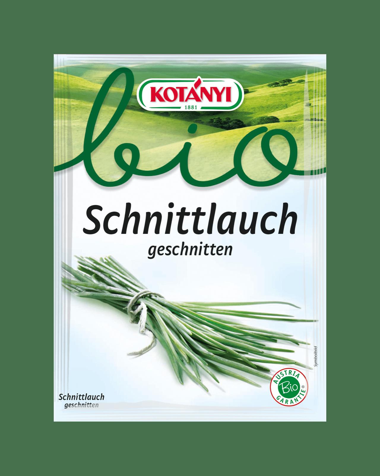 Kotányi Bio Schnittlauch in der Briefpackung
