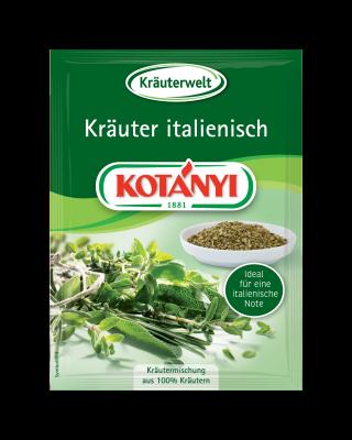 Kotányi Italienische Kräuter in der Briefpackung