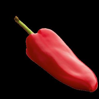 fliegende Paprika