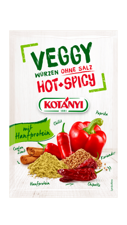 Kotányi Veggy Hotspicy in der Briefpackung