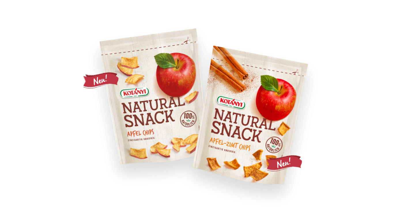 2 Natural Snack Standbeutel