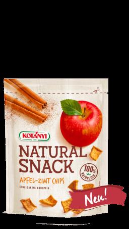 Packshot der Apfel-Zimt Chips