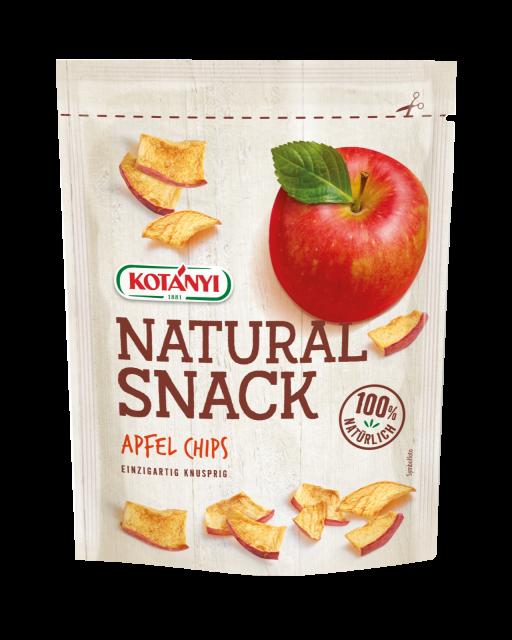 Apfel Chips Snack Kotanyi Standbeutel Edit Final