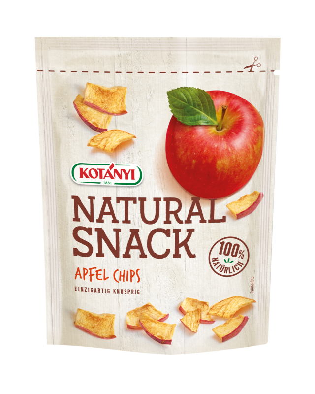 Apfel Chips Snack Kotanyi Standbeutel Edit Final