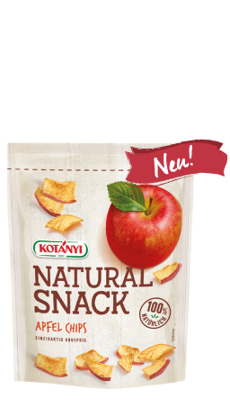 Packshot Apfel Chips