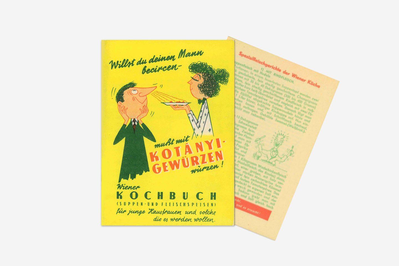 Kotányi cookbook from 1970.