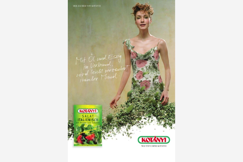 Kotányi advert from the 2000s.
