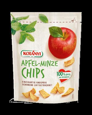 Crunchy Kotányi Apple Chips with mint flavor