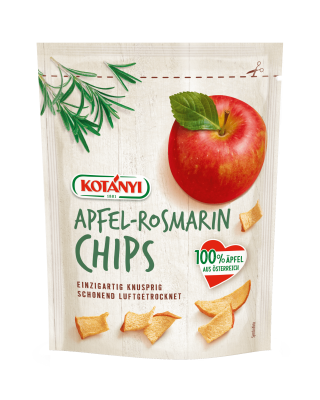 Crunchy Kotányi Apple-Rosemary Chips